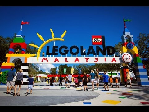 Legoland Malaysia Rides and Miniatures