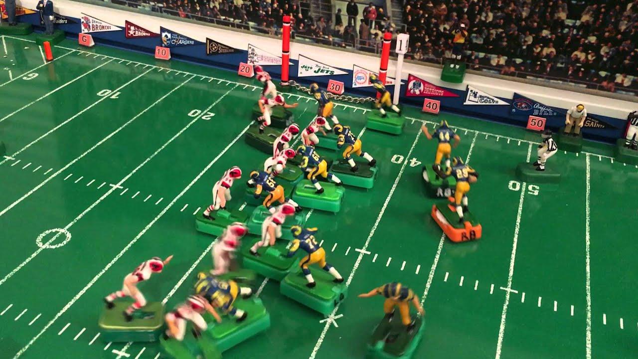 Electric Football 1980 Atlanta Falcons vs 1984 Los Angeles ...