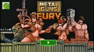 Metal Guns Fury Beat Em Up - Android Gameplay FHD