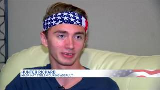 Viral video shows teen attacked for wearing 'Make American Great Again' hat