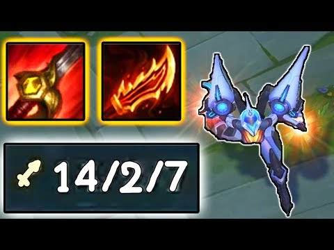 THE TRUE BUILD FOR KAI'SA? RAGEBLADE IS BETTER THAN CRIT? | League of Legends Gameplay