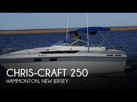 Used 1988 Chris-Craft Amerosport 250 for sale in Newtonville, New Jersey
