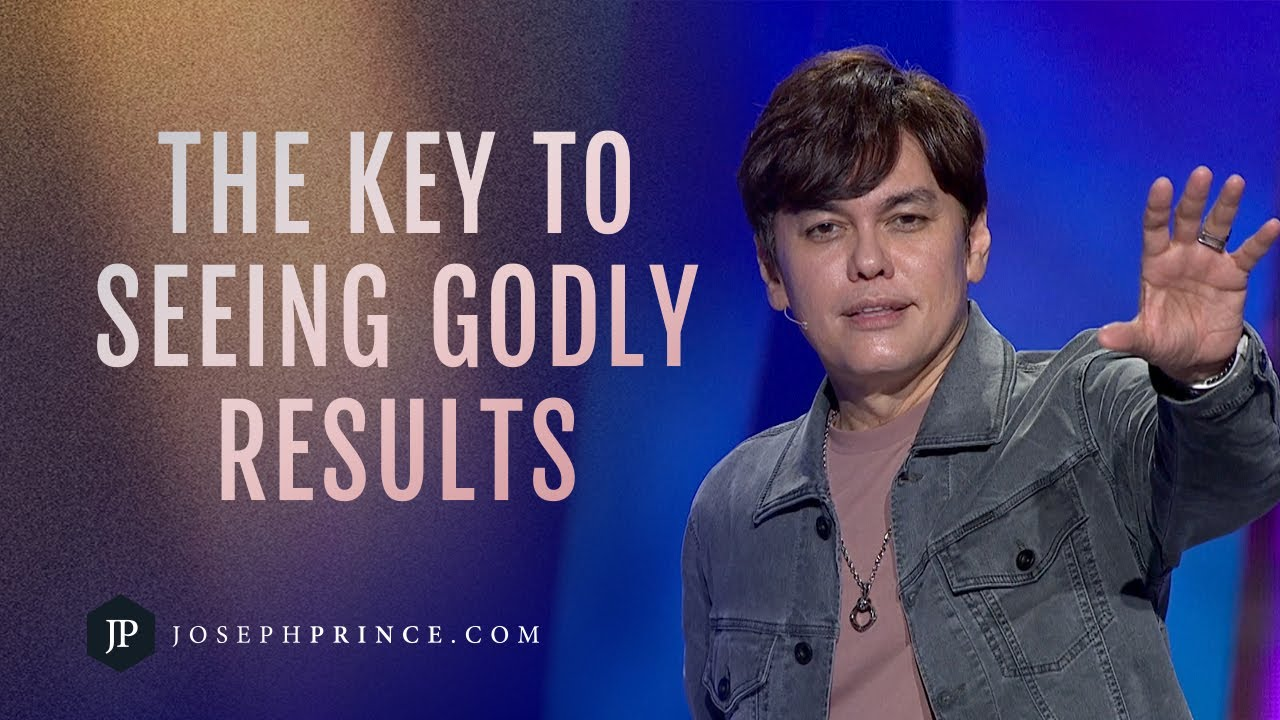 The Key To Seeing Godly Results | Joseph Prince
