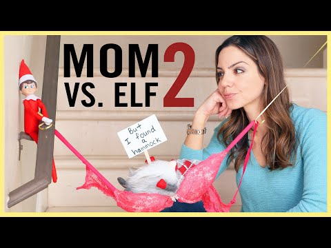MOM VS. ELF ON THE SHELF #2