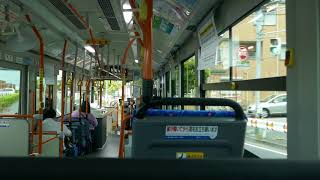 東京ベイシティ交通(ベイシティバス) エルガハイブリッド 2SG-HL2ASBD ①