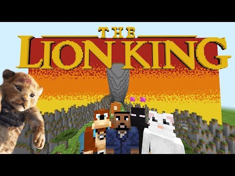 Minecraft XBOX - Hide And Seek - The Lion King (2019)