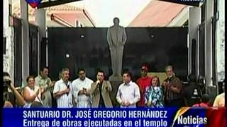 Ejecutivo entrega obras de templo José Gregorio Hernańdez en Trujillo