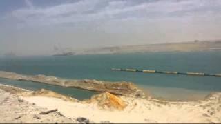 التكريك والتدبيش فى قناة السويس الجديدة 12أبريل 2015