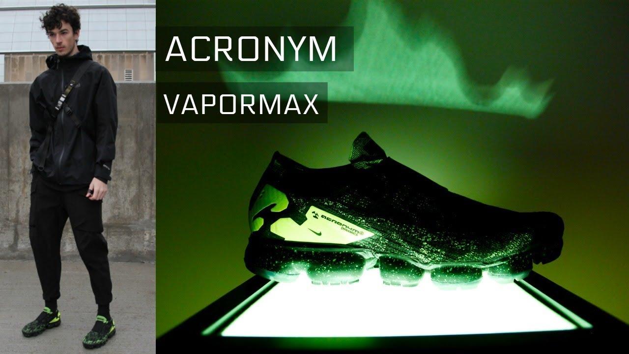 c9ba739fc4 Acronym Vapormax | Review & Styling | TECHWEAR - YouTube