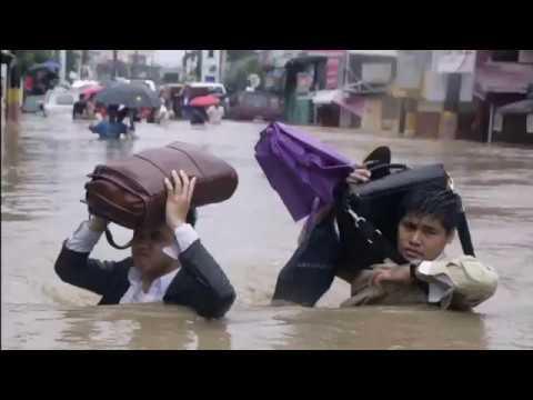 Typhoon Yagi floods Philippines capital Manila