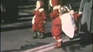 LaGrange Christmas Parade 1948 or 1949