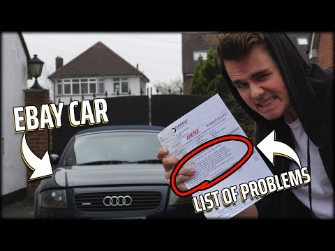 "The Risks of Buying an ""Ebay"" Car..."