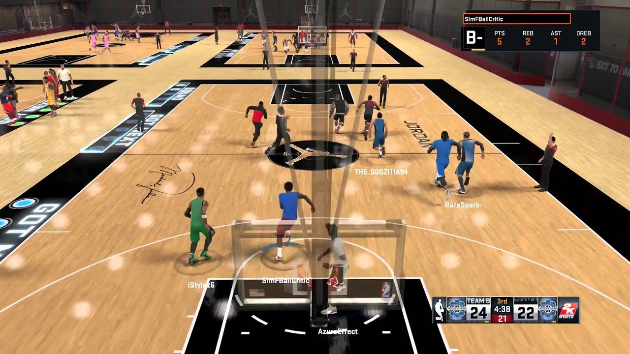 Nba 2k15 Is An Offline Basketball Game Youtube