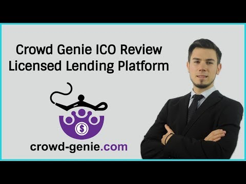 Crowd Genie ICO Review - Licensed Lending Platform