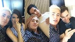 Teen Wolf Cast | Instagram Live Stream | 21 July 2017 Tyler Posey , Shelley Hennig & Colton Haynes