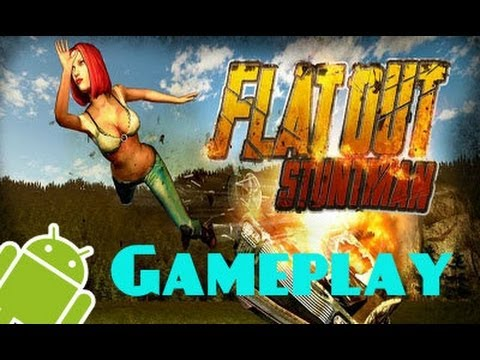Flatout Stuntman | Choques, Fails y más! | Gameplay Android