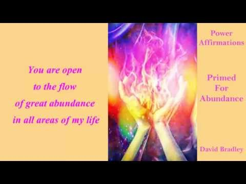 Power Affirmations: Primed for Abundance