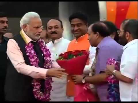 PM Modi reaches home after successful 3 nation tour