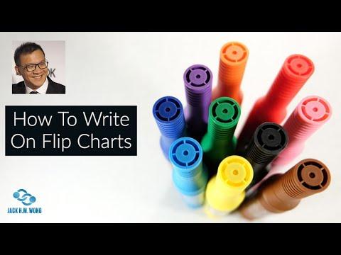 Flip Chart and Jumbo Marker Training