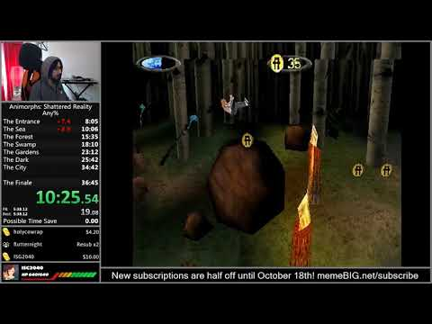 Animorphs Shattered Reality Any% (35:46 RTA) [Former World Record]