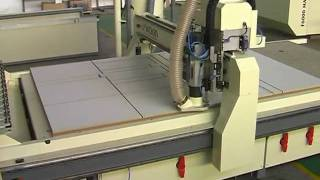 WoodTech CNC Router Cabinet Cutting