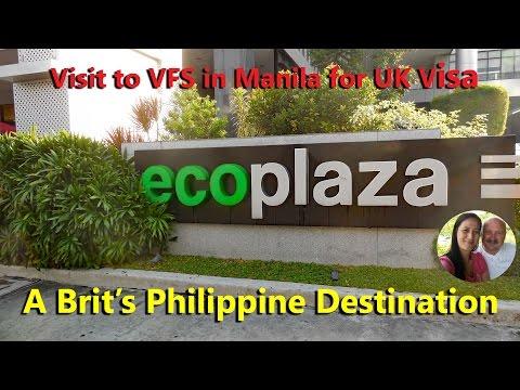 Visit Manila for Connie's UK Visa