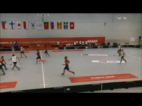 WUC FLOORBALL 2016 goals and assists by Nuno Paiva (Portugal)