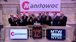 Manitowoc Company Celebrates 110th Anniversary At The Nyse