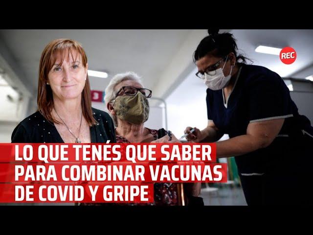 Lo que tenés que saber para combinar vacunas de covid y gripe