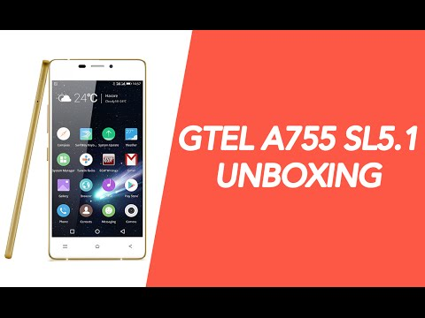 Gtel A755 SL5.1 smartphone Unboxing