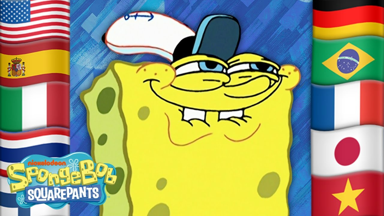 Download 5 Iconic SpongeBob Scenes IN 34 DIFFERENT LANGUAGES! 🇺🇸🇯🇵🇧🇷🇫🇷