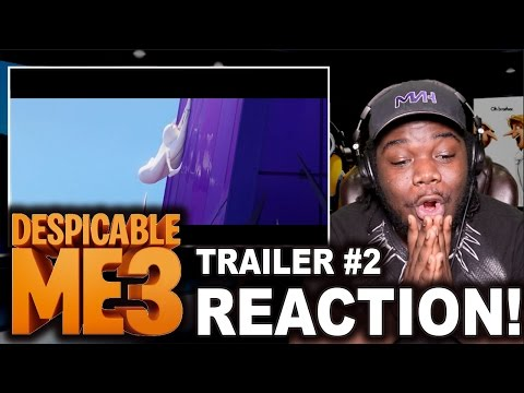 Thumbnail: DESPICABLE ME 3 TRAILER 2 : REACTION!