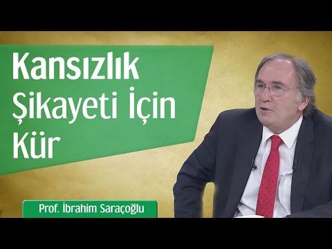 Kansızlık Şikayeti İçin Kür | Prof. İbrahim Saraçoğlu