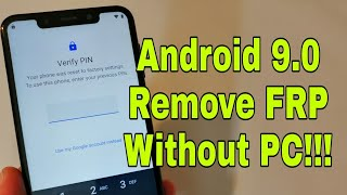 Motorola One Power (P30 play/P30 note/P30). Remove Google Account. Bypass FRP.