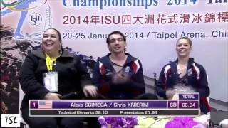 Alexa Scimeca & Chris Knierim: From Olympic Disappointment To National Champions