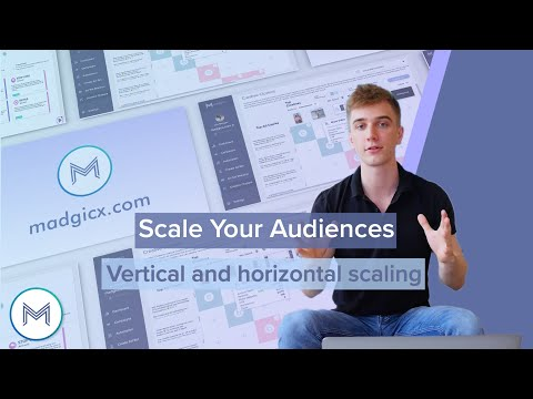 5.2 How to scale your audiences - <br>vertical and horizontal scaling