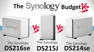 The Synology DS216se vs The Synology DS215J vs The Synology DS214se - Best Budget NAS?