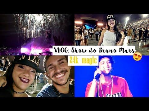 Vlog: Nosso domingo + show do Bruno Mars...