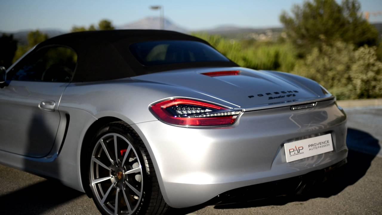 Porsche Boxster For Sale >> PORSCHE BOXSTER GTS TYPE 981 - YouTube