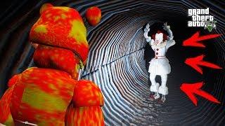 АНИМАТРОНИКИ НАШЛИ КЛОУНА ПЕННИВАЙЗ ОНО ПРИКЛЮЧЕНИЯ АНИМАТРОНИКОВ 5 ночей Фредди ФНАФ Анимация