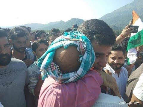 BJP State President Ravinder Raina at Funeral of Martyr Kamal Kishore | UNT