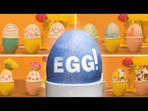 5-Minute Egg Decoration Ideas