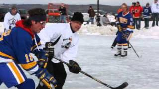 Sylvan Lake Pond Hockey 2010