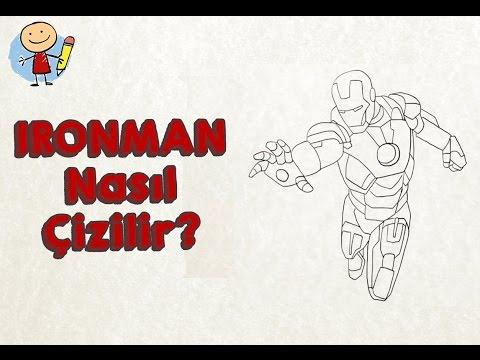 çocuklar Için Demir Adam Ironman çizimi çocuk Için Resim Nasıl