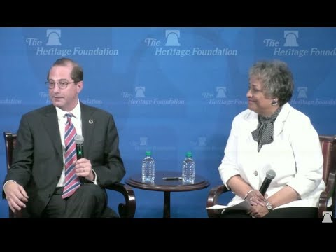HHS Secretary Alex Azar on the Importance of Free-Market Principles in American Healthcare
