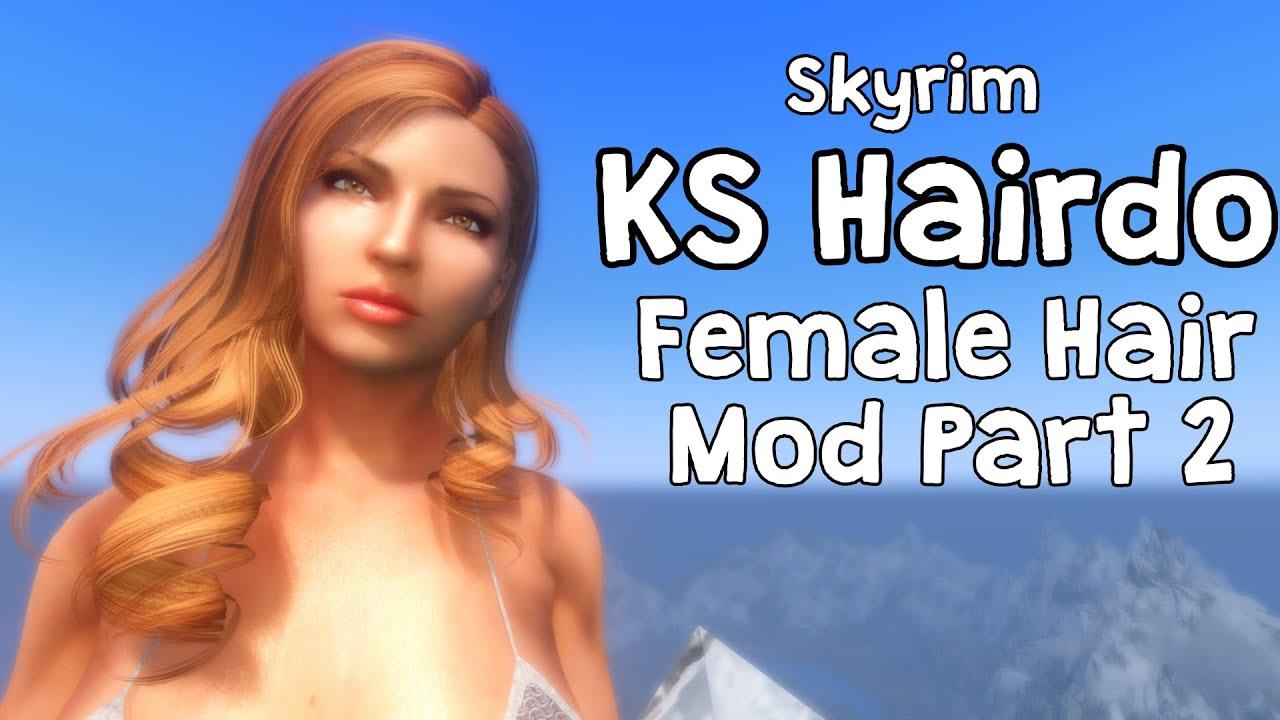 Skyrim KS Hairdo 265 Female Hair Mod Part 2 - Full REFERENCE GUIDE!