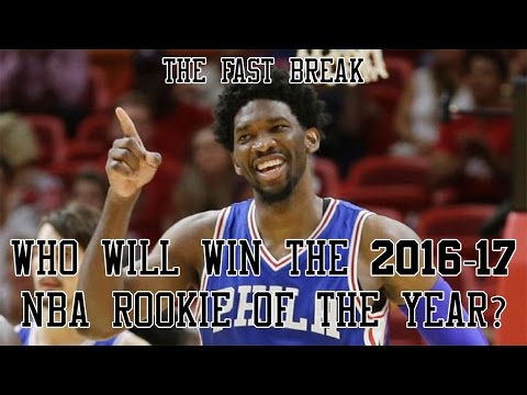 Who Will Win The 2016-17 NBA Rookie Of The Year?