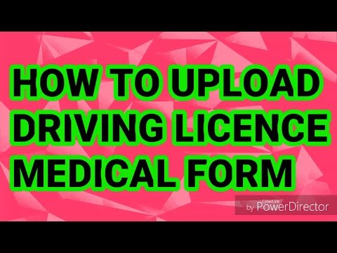 form 1a for driving licence