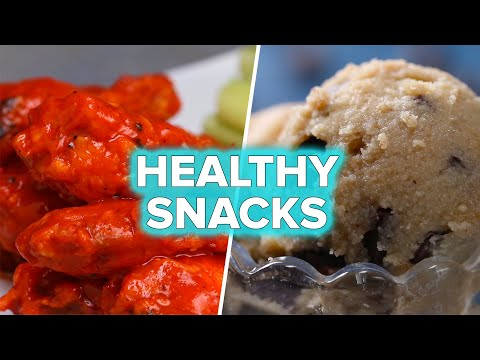 Healthy Versions of Unhealthy Snacks