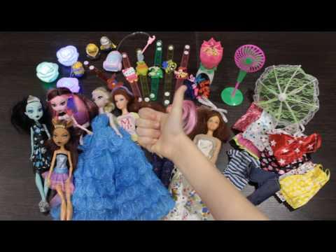 Обзор на  покупки с AliExpress. Игрушки: кукольная мебель и аксессуары